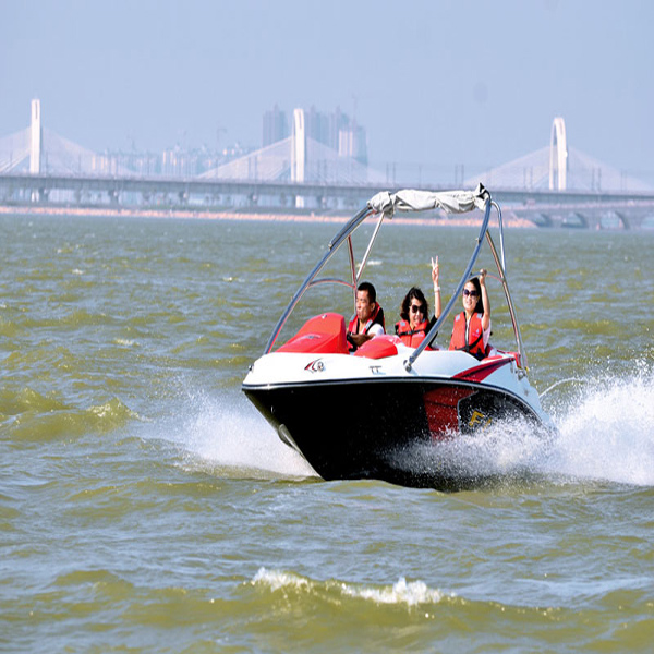 4 Persons Capacity CE Approved Family Jet Boat Leisure Yacht