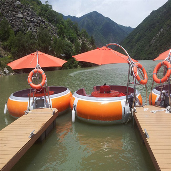 BBQ Boat Leisure Pedal Boat Donut Boat